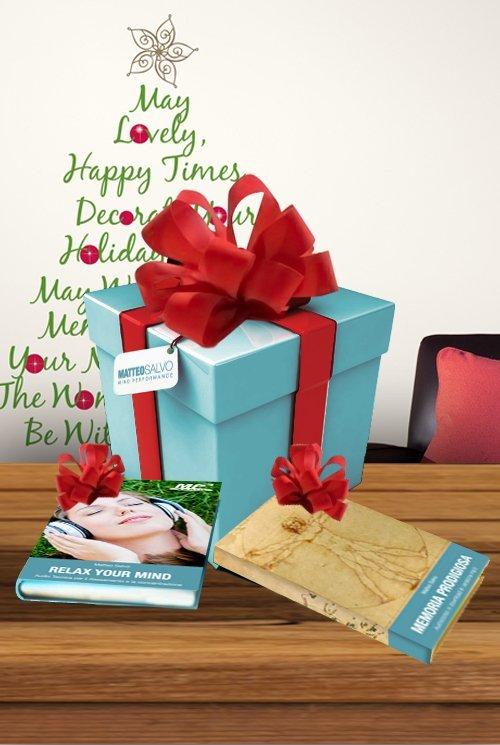 confezione natalizia libri