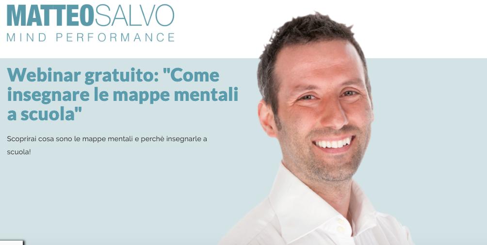 webinar mappe mentali